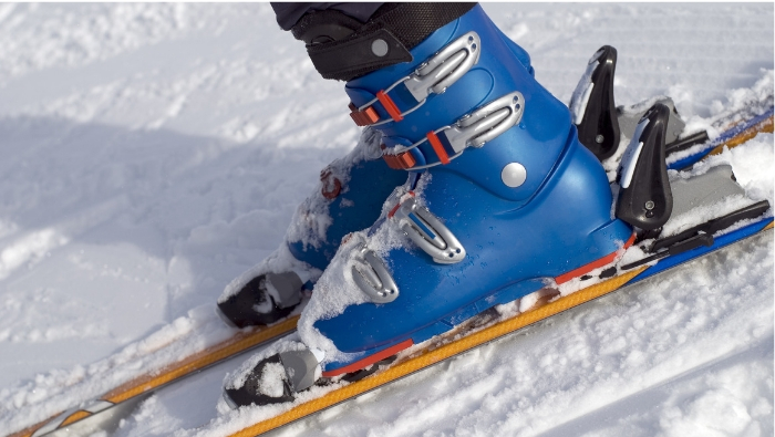 Preventing foot problems when skiing
